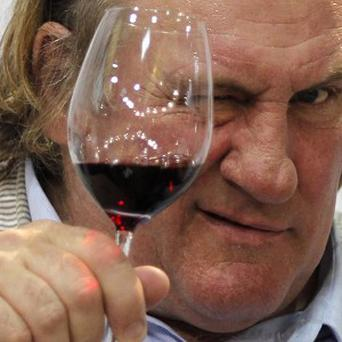 French actor Gerard Depardieu who is accused of grounding an airline flight after urinating in the cabin(AP)
