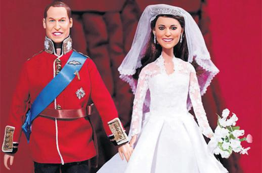 Prince William and Princess Catherine Royal Wedding Dolls will hit shelves soon