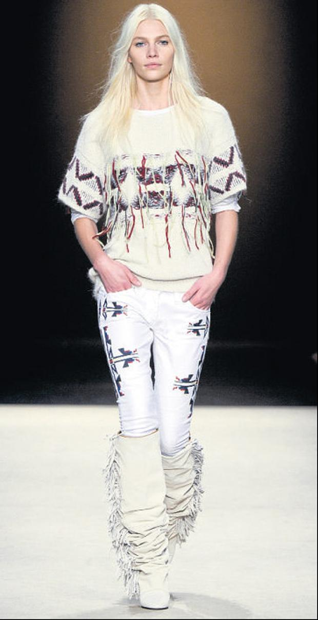 Isabel Marant A/W 2011 collection available from Brown Thomas