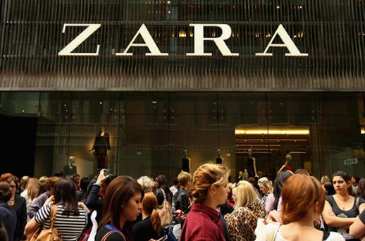 Inditex is the parent company of the retail chain Zara. Photo: Getty Images