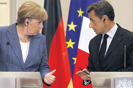 Angela Merkel and Nicolas Sarkozy refused to stand still and do nothing