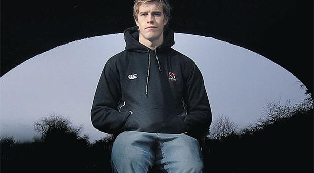 Andrew Trimble. Photo: Kelvin Boyes