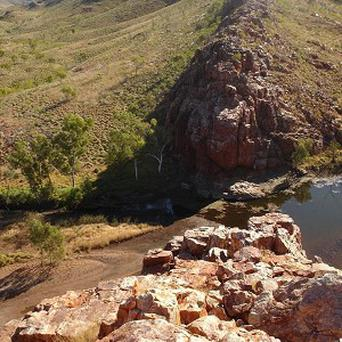 The Strelley Pool in the remote Pilbara region of Western Australia, where scientists discovered microfossils more than three billion years old