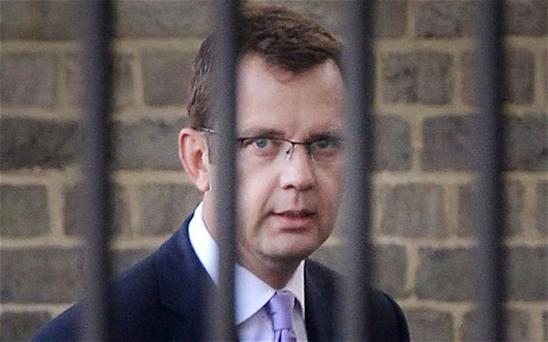 Former News of the World editor Andy Coulson. Photo: Getty Images