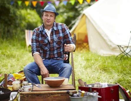 Jamie Oliver in Channel 4's Jamie Cooks Summer Photo: Channel 4
