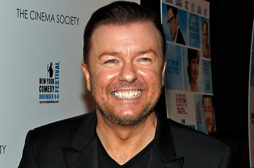 Ricky Gervais. Photo: Getty Images