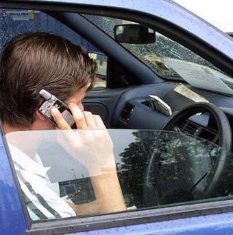 A survey about road rage has revealed that, among other things, motorists get annoyed by other drivers talking on mobiles