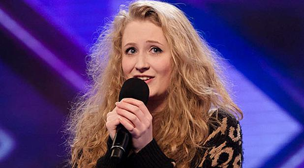 Janet Devlin (16) from Gortin near Omagh, wowed X Factor judges Tulisa and Louis. Photo courtesy of ITV