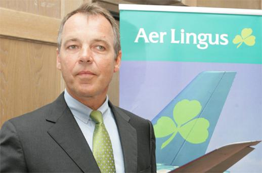 Aer Lingus chief executive, Christoph Mueller. Photo: Collins
