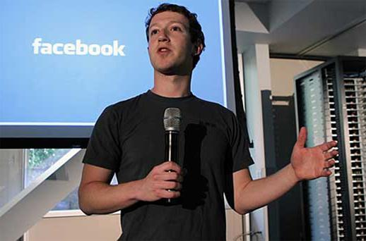 With 750 million Facebook users, Mark Zuckerberg isn't doing 'too badly' . Photo: Reuters
