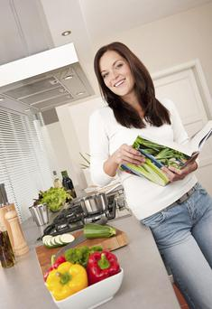 Buy a cookbook and begin avoiding pre-packaged food