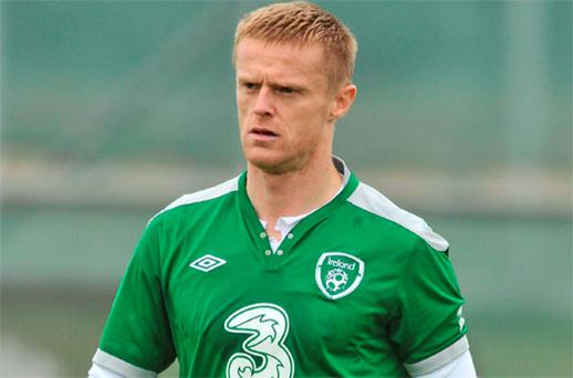 Damien Duff will have a key role to play as Ireland bid to break down the Slovakian defence tonight