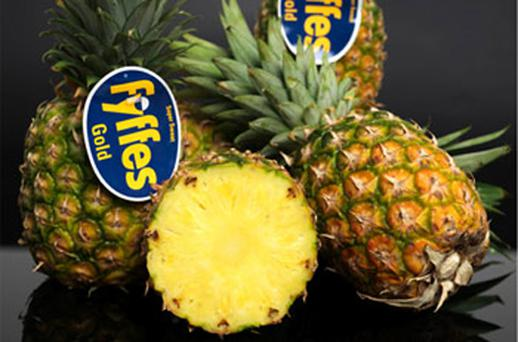 Fyffes dropped by two per cent
