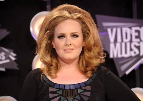 Adele's sound and style make her more real than other performers. Photo: Getty Images