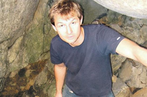 Cave diving trainer Artur Kozlowski, from Shankill, Dublin, whose body was discovered in a cave network near Kiltartan in Co Galway last night