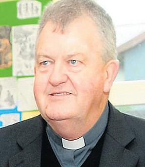 Fr Kevin Reynolds: featured in 'Prime Time' programme