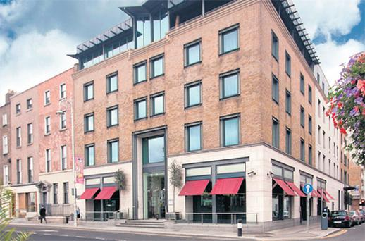 On the market: The Morrison Hotel, in Dublin's city centre, has been put on the market by the receivers at FGS, who are seeking offers in the region of €25m