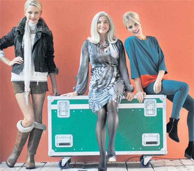 Teodora Sutra, Olivia Treacy and Jude Nabney in Marks & Spencer's new Autumn-Winter range