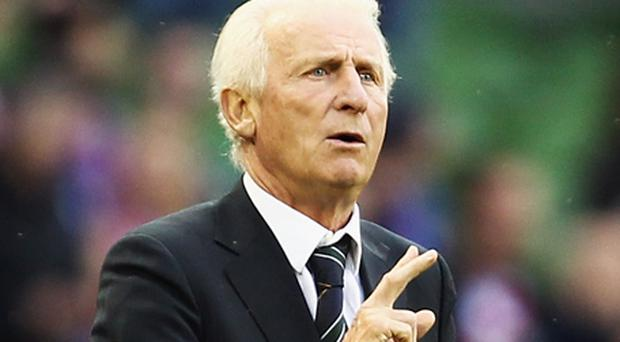 Giovanni Trapattoni: open to other offers while FAI hold off on new contract. Photo: Getty Images