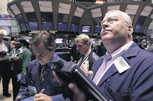 Some 60pc of the volume of the New York Stock Exchange is down to high-speed trading