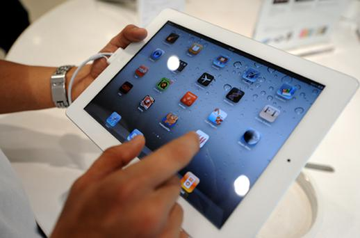 Apple's iPad 2. Photo: Getty Images