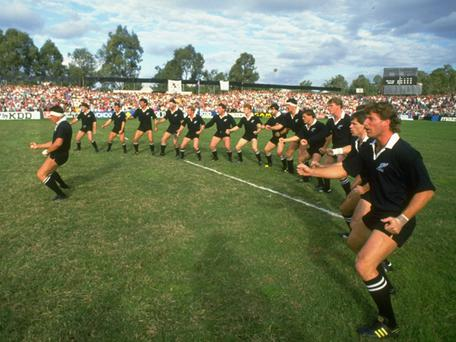 <b>THE FIRST OF MANY...</b><br/> Michael Jones' try for New Zealand against Italy in the inaugural match of the 1987 tournament will forever be remembered as the first try in a Rugby World Cup. Jones proved a star performer that year and also scored the first try of the first ever World Cup Final, helping the All Blacks to defeat France 29-9.