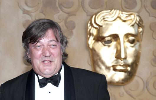 Stephen Fry hosted the event from 2001 to 2006 when he was succeeded by Jonathan Ross. Photo: Getty Images