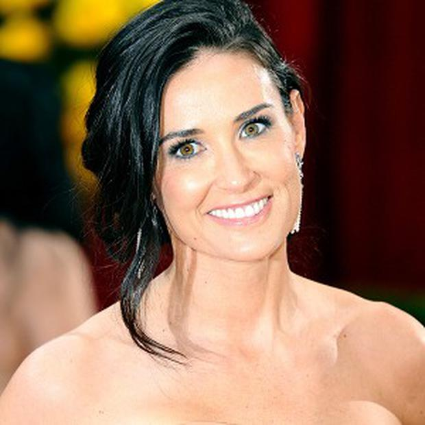 Demi Moore posts topless picture - Independent.ie