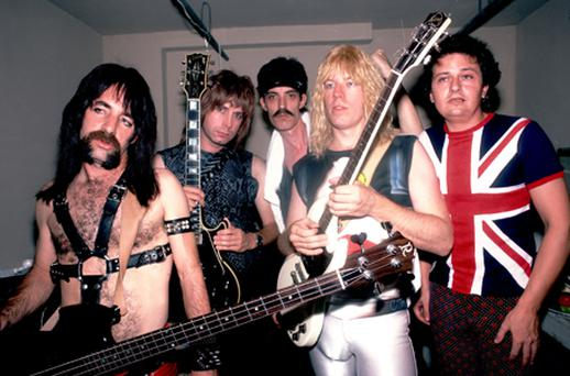 Some viewers were convincedSpinal Tap - which had a knack of losing drummers in freak accidents - were a genuine band. Photo: Getty Images