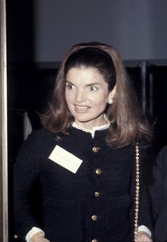 Jackie Kennedy: said Irish people have a persecution complex and she hated our food. Photo: Getty Images