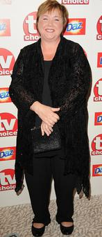 Pauline Quirke pictured at the TV Choice Awards in 2010