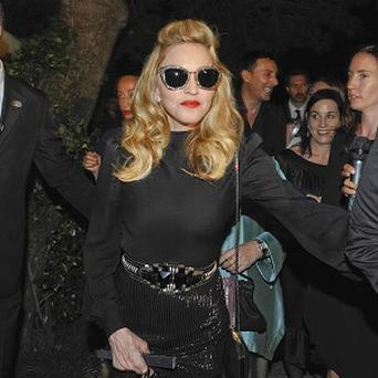 Madonna has been promoting her film W.E. in Toronto