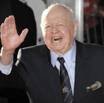 Mickey Rooney has accused his stepson and others of abusing him and stealing his income. Photo: AP