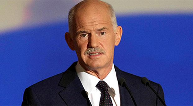 Greek Prime Minister George Papandreou. Photo: Reuters