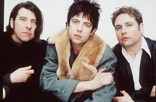 Together again: Echo and Bunnymen's Will Sergeant and Ian McCulloch play 'Ocean Rain' in the Olympia next Friday