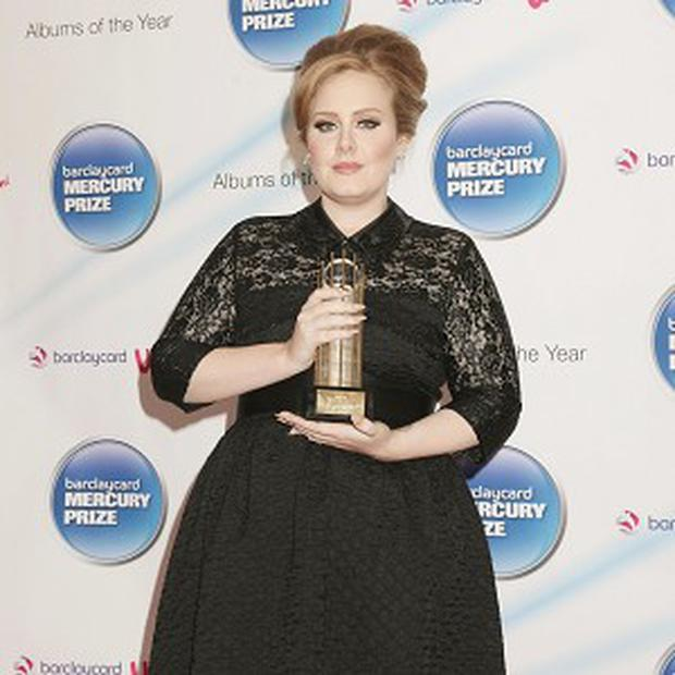Adele has been nominated for three MTV Europe Music Awards