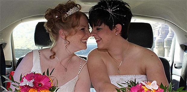 Gemma Harman, right, and Tamsin Harper claim Thompson Holidays discriminated against them