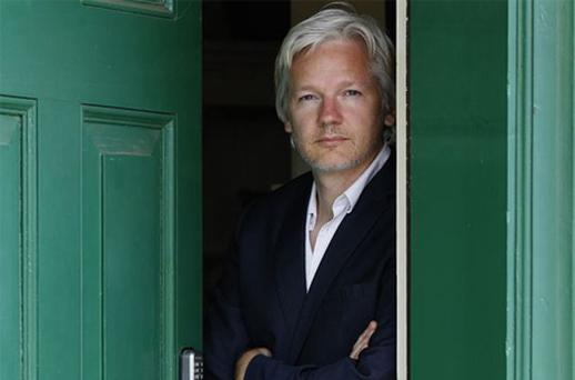 Julian Assange was reluctant to write his autobiography. Photo: AP