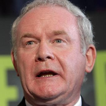 Irish presidential hopeful Martin McGuinness has demanded the past of all his competitors in the race be examined
