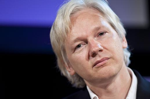 The mercurial founder of Wikileaks, Julian Assange