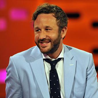 Chris O'Dowd enjoyed his film antics in the pool with Megan Fox