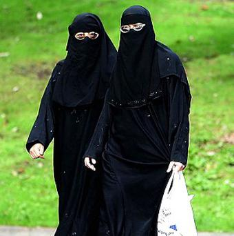 Wearing an Islamic face veil is banned on the streets of France