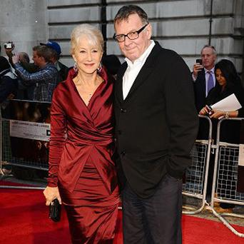 Dame Helen Mirren and Tom Wilkinson star in The Debt
