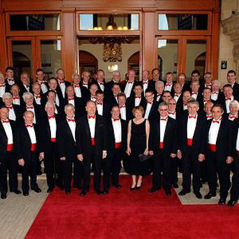 Fron Male Voice Choir is making a bid for the coveted Christmas number one chart spot