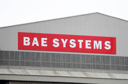 Defence giant BAE Systems will end days of speculation today by announcing around 3,000 job cuts. Photo: PA
