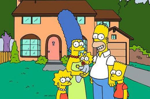 Lisa , Marge , Maggie, Homer and Bart Simpson. Photo: AP