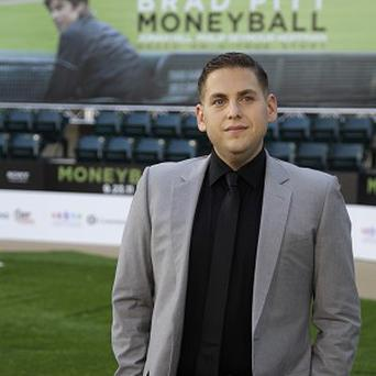 Jonah Hill wanted to do a good job on Moneyball for Brad Pitt