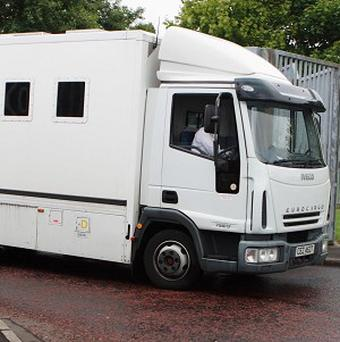 A prison van was sent 90 miles to transport a defendant 60 yards
