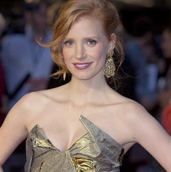 Jessica Chastain is being linked to a role in Horizon