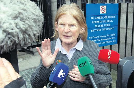 Teresa Treacy at court in Dublin.